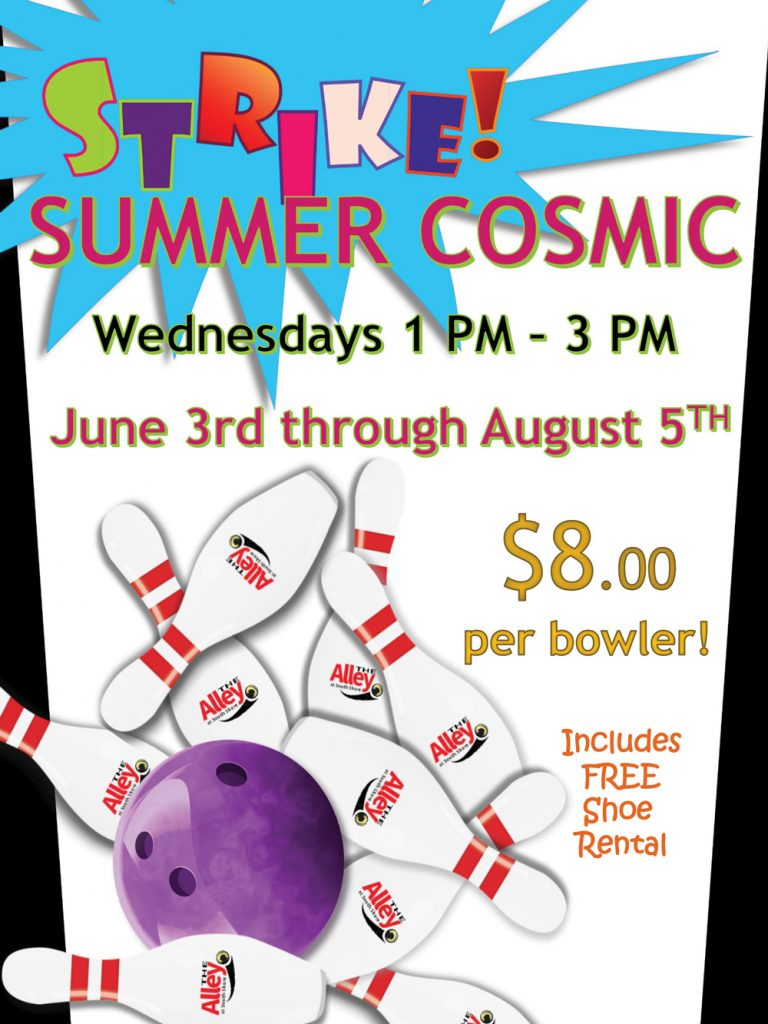 summer cosmic bowling