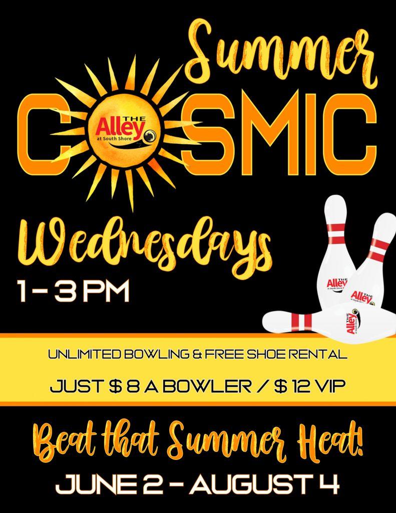 Summer cosmic bowling
